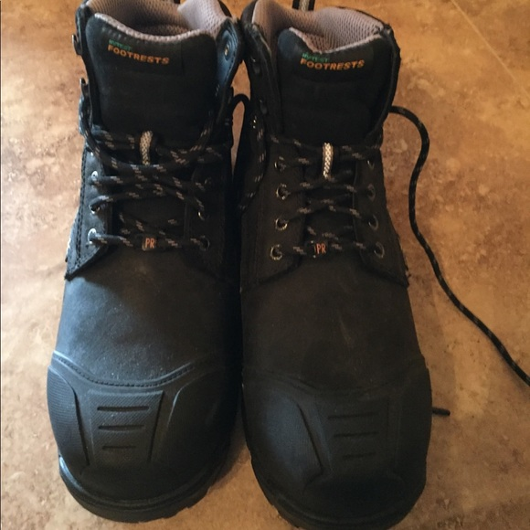 Mens Hytest Footrest Steel Toe Work